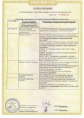 Сертификат ТС ТР 032/2013 на фланцы, заглушки, крепеж. Приложение №1